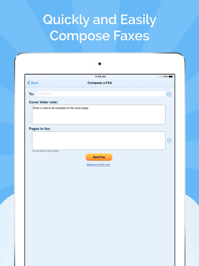 Fax Burner: Send & Receive Fax on the App Store