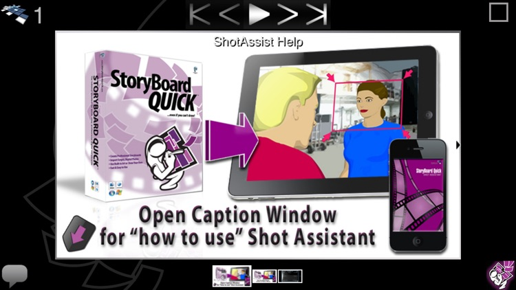 StoryBoard Quick Shot Assistant