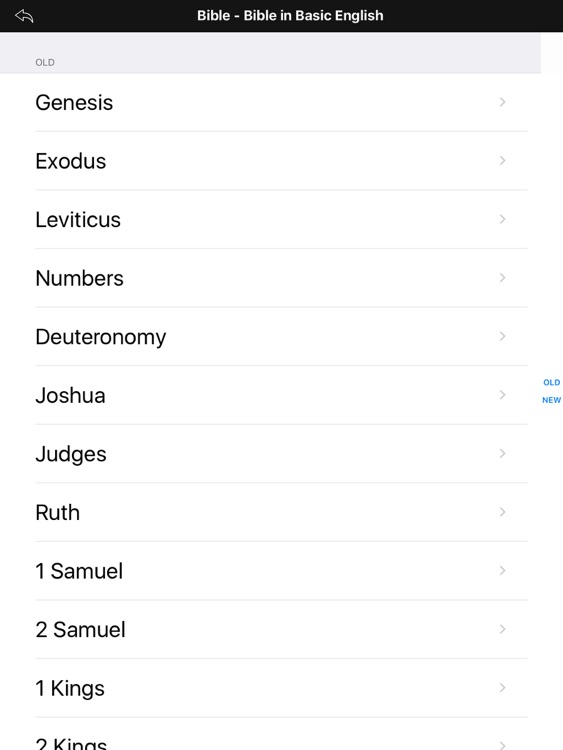 Bible-Simple Bible Advance HD (BBE) screenshot-0