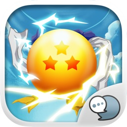 Saiyan Boy Emoji Sticker Keyboard Themes ChatStick