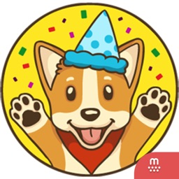 Playful Corgi stickers for iMessage