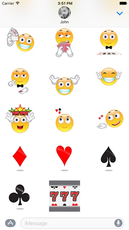 Gambling - Animated Stickers for iMessage