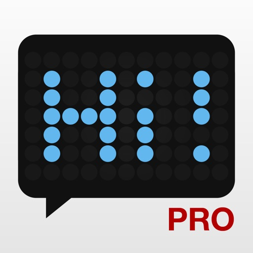 LED Banner Pro - Scrolling Text Display App