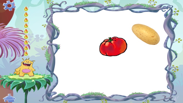 Learn the vegetables - Buddy's ABA Apps