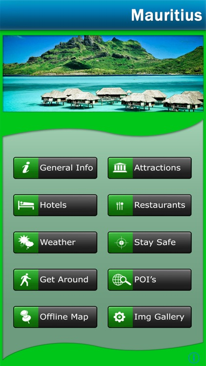 Mauritius Offline Map Travel Guide screenshot-0
