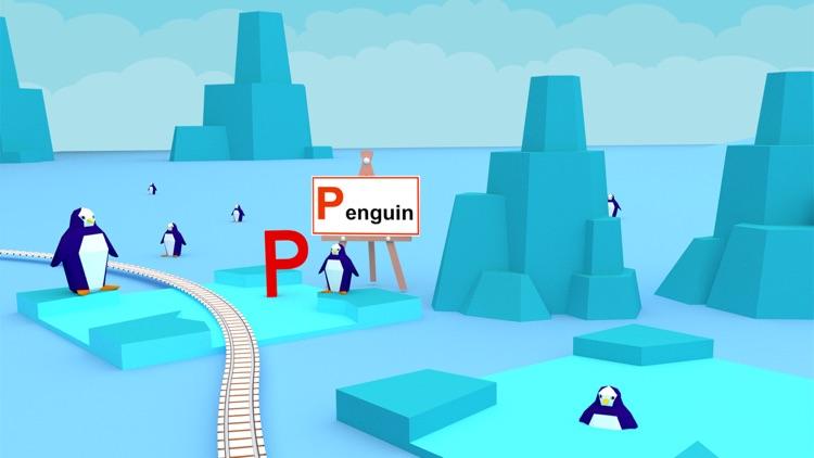 Learn ABC Alphabet For Kids - Play Fun Train Game screenshot-3