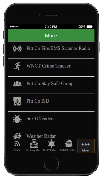 Greenville NC Public Safety App