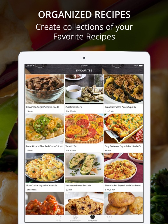 Healthy Vegetarian Recipes | Cook And Learn Guide screenshot