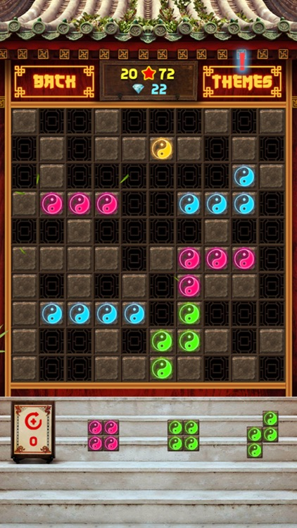 Block Puzzle 1010: china temple style,panda blocks screenshot-4