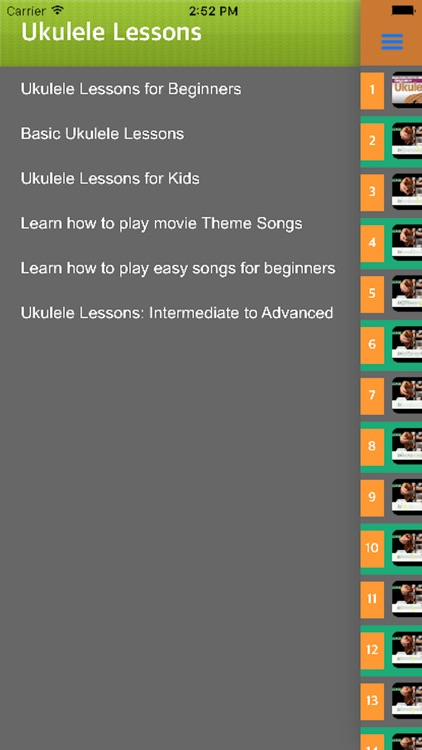 Ukelele Learning - Learn Play Ukelele With Videos screenshot-4