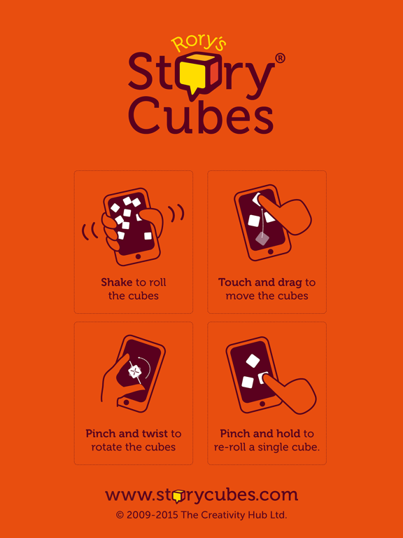 Screenshot #4 pour Rory's Story Cubes