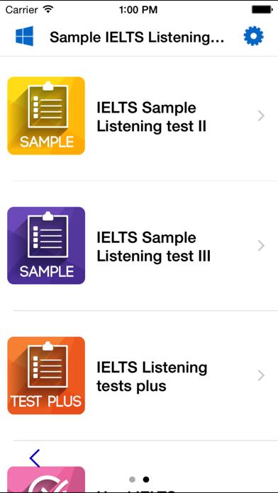 IELTS Listening Section Test Samples Tricks Skils screenshot two