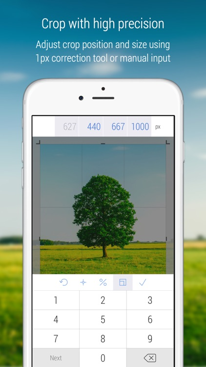 CropSize - Photo Resize & Crop to Exact Image Size screenshot-0