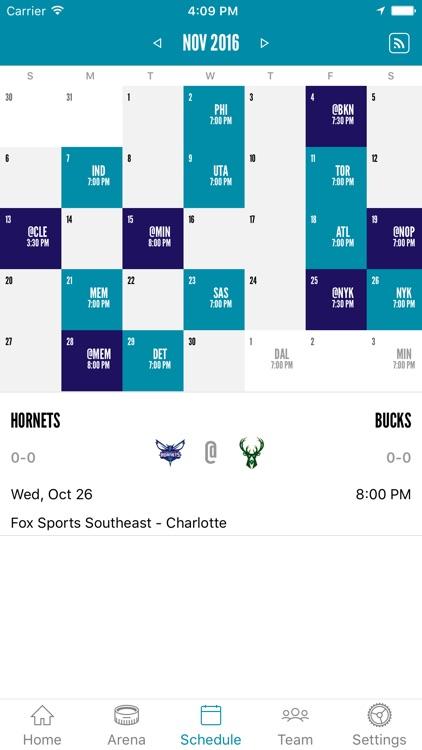 Charlotte Hornets screenshot-3