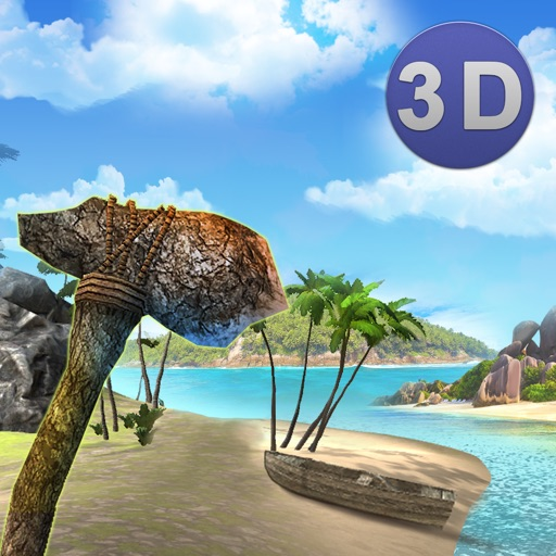 Lost Stranded Island Survival 3D iOS App