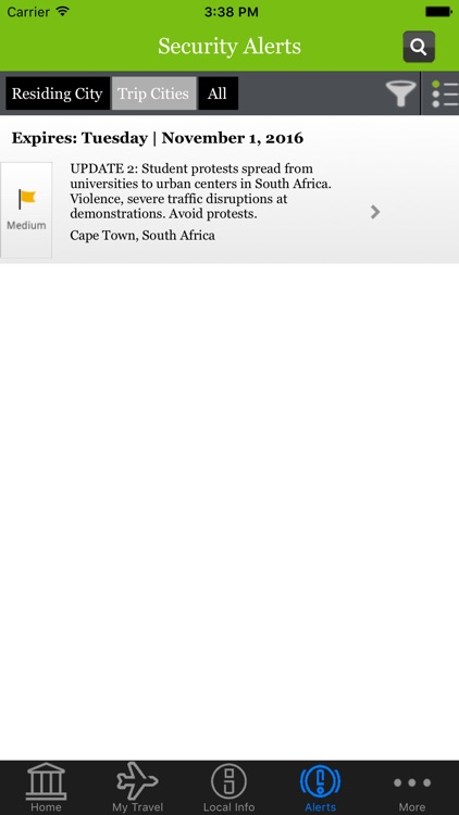 Chubb Travel App screenshot-3
