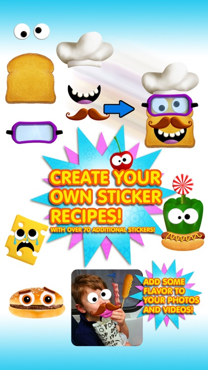Tiggly Chef Stickers