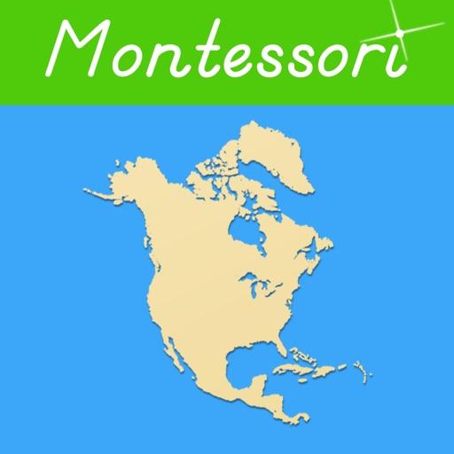 Norte América - Montessori Geografía