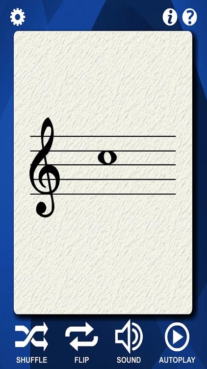 Clarinet Flash Cards
