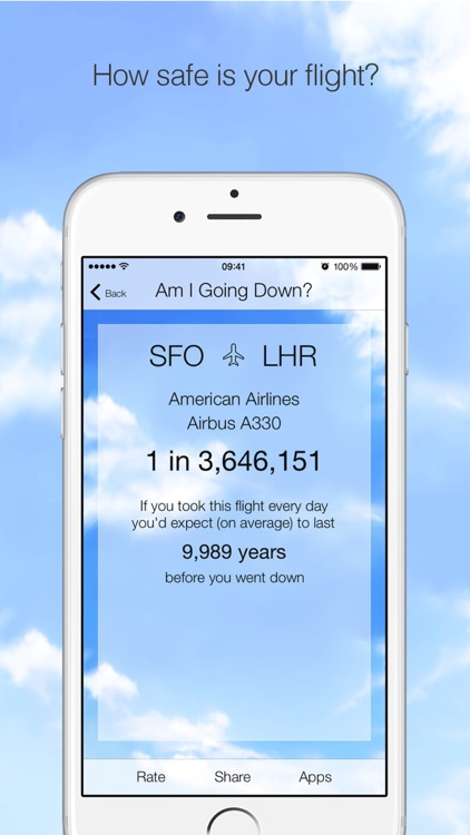 Am I Going Down? Fear of Flying App screenshot-4