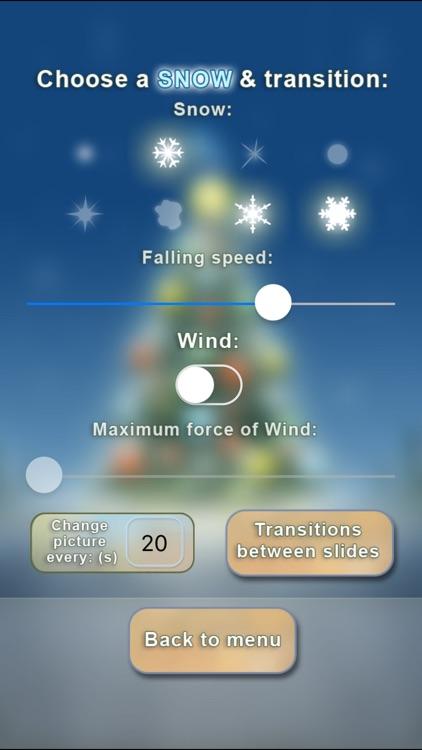 Christmas Slideshow & Wallpapers (animated snow!) screenshot-3
