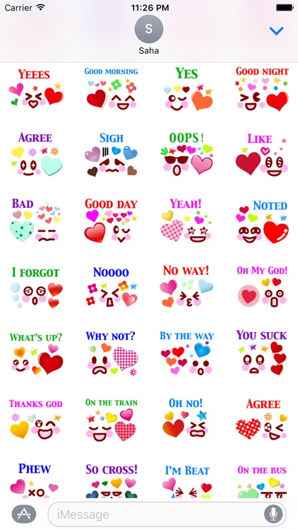Say It Stickers Pack