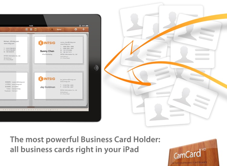 CamCard HD Free - Business Card Scanner & Reader