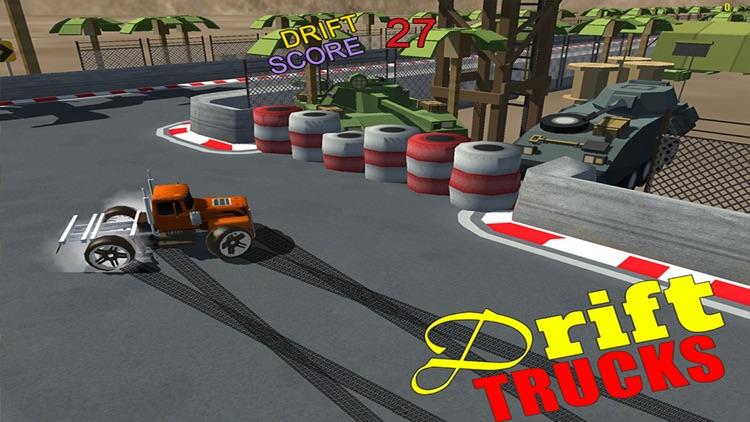 Drift Trucks - Monster Truck Drift Racing Games