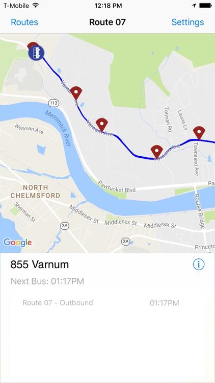 LRTA Bus Tracker screenshot-4