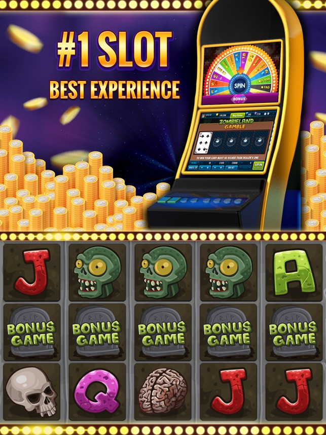 Zombieland Casino Slot Machine Screenshot