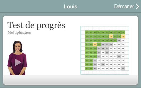 XtraMath screenshot 2