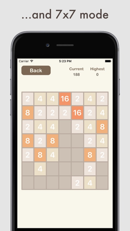 All 2048 - 3x3, 4x4, 5x5, 6x6 and more in one app! screenshot-3