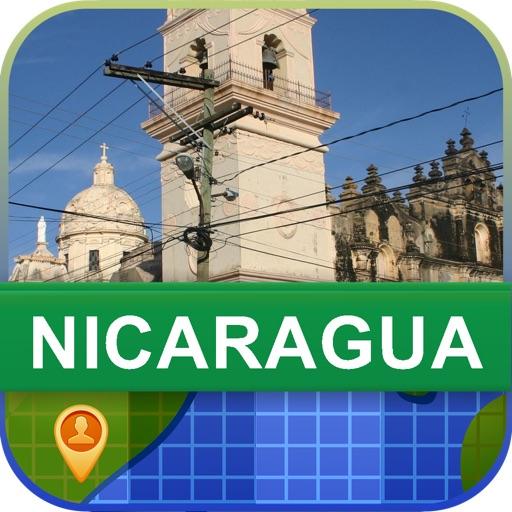Offline Nicaragua Map - World Offline Maps