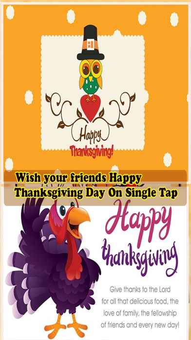 Happy Thanksgiving Day Greetings Card Maker screenshot two