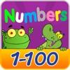 番号を1〜100を学ぶ - 子供や幼児のための無料の教育ゲームを