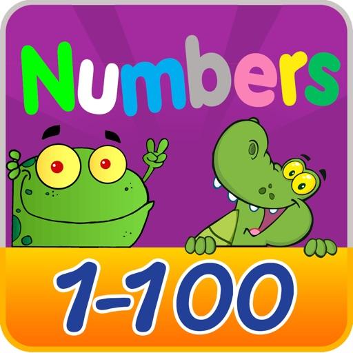 學號1到100 - 免費教育遊戲為孩子和幼兒