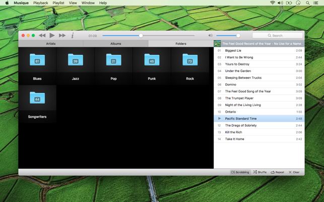 Musique Screenshot