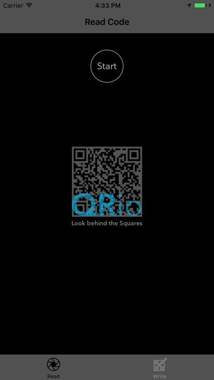 QRio - Simple QR Reader & Writer