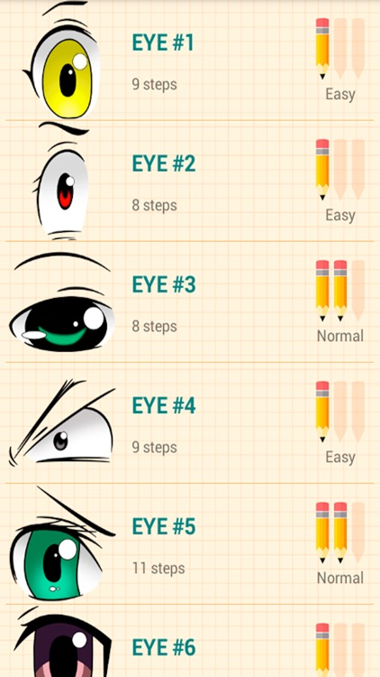 How To Draw Anime Eyes Easy Lessons By Tien Nguyen