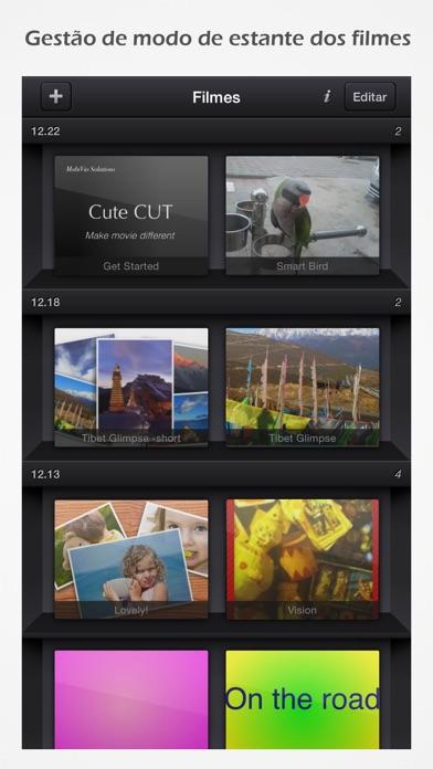 Screenshot for Cute CUT Pro in Portugal App Store