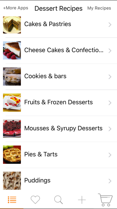 Dessert Recipes review screenshots