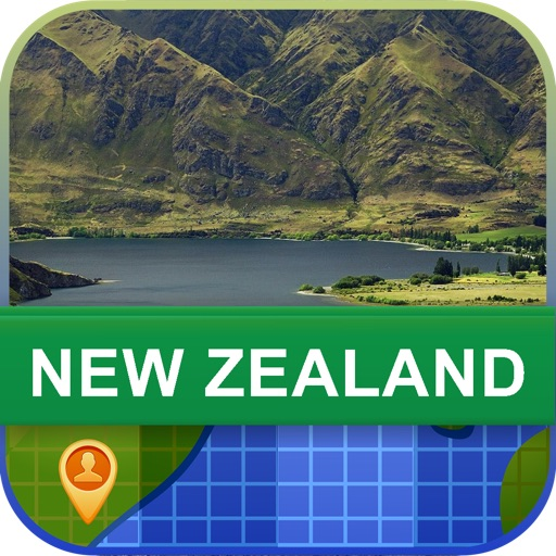 Offline New Zealand Map - World Offline Maps icon