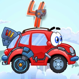 Wheely 4 Time Travel - Action Physics Puzzle Game