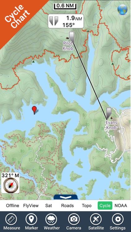 Great Smoky Mountains Park - GPS Map Navigator screenshot-4