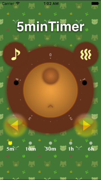 Kuma Timer - Bear's Face Timer screenshot one