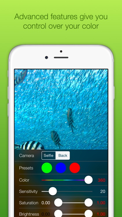 Chromatic Camera - Green Screen Photo Booth screenshot-4