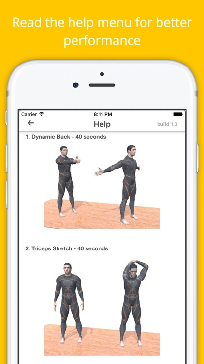 12 Min Stretch Challenge Workout PRO - Pain Relief screenshot-4