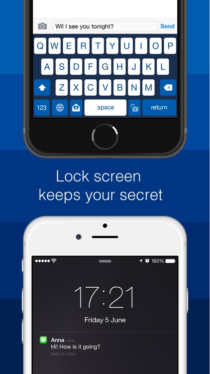 Kibo - Hide your messages in any messenger