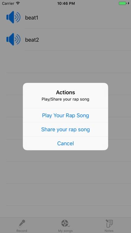 Rap Song Creator screenshot-3