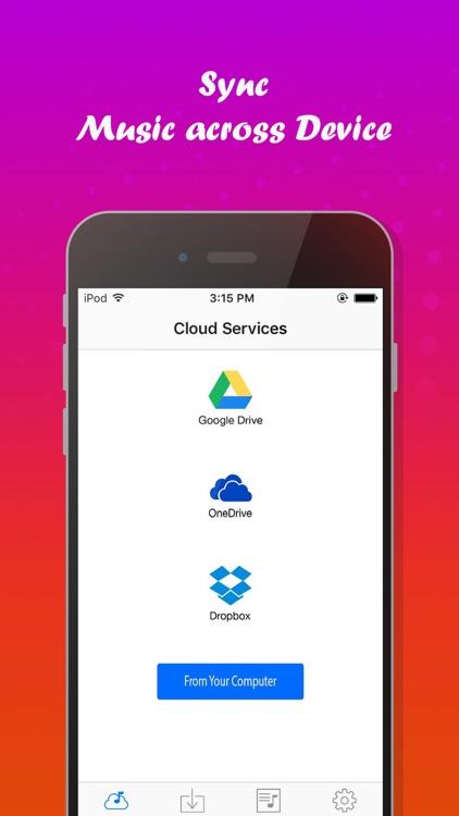 Offline Video & Music Player for Cloud Drive screenshot-3